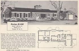 48 old house floor plans vintage house plans 1960s efficient