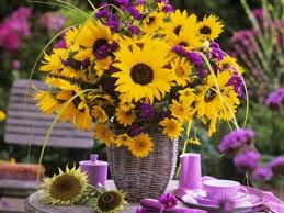 Centerpieces With Sunflowers by 20 Best Cocktail Table Centerpieces Images On Pinterest