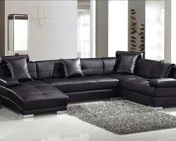 Houzz Sectional Sofas Fantastic Black Leather Sectional With Chaise Leather Sectional