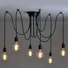 plafonnier pour cuisine luminaire pour cuisine design 6 pcs luminaire suspension style