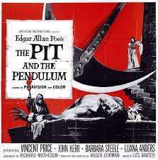 the pit and the pendulum 1961 quad film posters pinterest