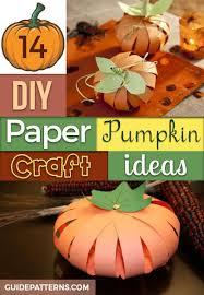 14 diy paper pumpkin craft ideas guide patterns