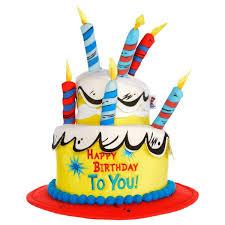 dr seuss birthday cakes dr seuss birthday cake hat
