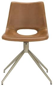 Leather Swivel Dining Chairs Ach7001a Set2 Dining Chairs Furniture By Safavieh