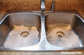 How To Clean The Kitchen Sink How To Shine A Stainless Steel Sink