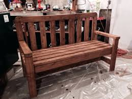 Leopold Bench Plans Wooden Bench Seat With Backrest Diy Wooden Bench With Backrest Diy