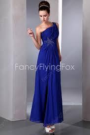 graduation dresses for royal blue one shoulder graduation dresses for high school cheap