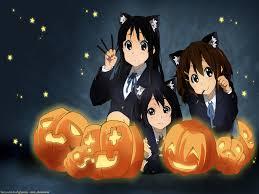 k on cat catgirl halloween hirasawa yui nakano azusa signed