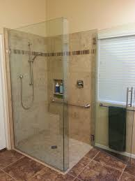 Bath Handheld Shower Master Bath Remodel Creating A Curbless Shower Pan With Wide Entry
