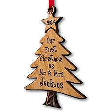 personalized ornaments for tree