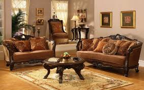 inspiring traditional home decor ideas with classic sofa and wood