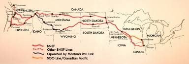 Canadian Pacific Railway Map Resources For Promotion Solutionary Rail