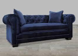 velvet sofa set sofa awesome navy velvet sofa for elegant tufted sofa design