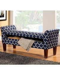 Padded Storage Bench Deals On Laco Re Mid Century Design Print