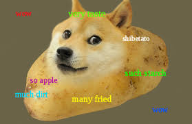 Doge Meme Pronunciation - this strange meme baffles me please explain metatalk