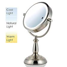 best rated lighted makeup mirror the best lighted makeup mirrors top 10 reviews in 2018