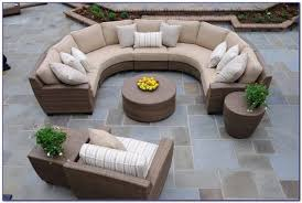 curved sofa patio furniture patios home decorating ideas