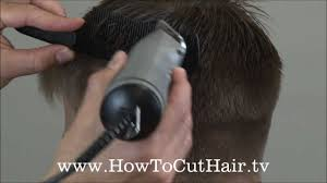 how to blend a fade haircut clipper over comb scissor over