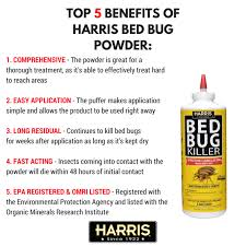 Can Bed Bugs Kill You Harris Diatomaceous Earth Bed Bug Killer 8oz Powder Walmart Com