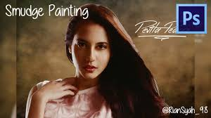 tutorial smudge painting indonesia tutorial smudge painting di adobe photoshop cs6 youtube