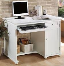 White Computer Desk Hton Bay 42 Inch White Computer Desk 42 W White