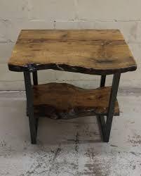 Live Edge Wood Shelves by Live Edge Burly Oak Vanity With Bottom Oak Shelf Live Edge Table
