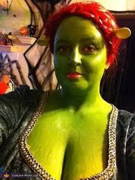 Fiona Halloween Costume Homemade Shrek U0026 Fiona Costume Couples Photo 4 4
