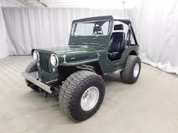 modified jeep 2017 modified 1946 jeep cj2a for sale on bat auctions sold for 14 000