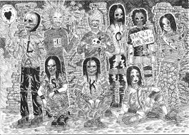great slipknot coloring pages 54 with additional coloring books