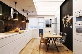 amenager une cuisine en longueur aménagement cuisine 52 idées pour obtenir un look moderne