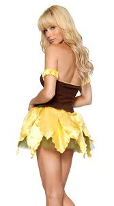 Sunflower Halloween Costume Sunflower Fairy Women Ladies Fancy Dress Party Role Play