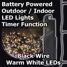 battery operated led lights with timer battery operated multi function outdoor led timer christmas lights