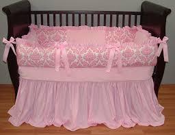 Solid Pink Crib Bedding 96 Best Baby Crib Bedding Images On Pinterest Baby Crib