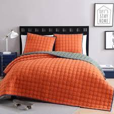 Burnt Orange Comforter King Buy Twin Xl Orange Bedding From Bed Bath U0026 Beyond