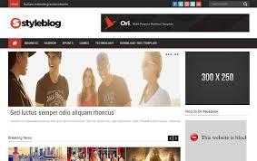 templates blogger premium 2015 45 free blogger templates 2015 graphic design inspiration