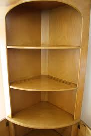 corner cabinet bookcase heywood wakefield corner cabinet bench u0026 bookshelf picked vintage
