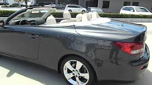 lexus is 250c 2010 lexus is is 250 sport convertible 2d van nuys ca 320468