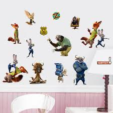 100 wall sticker diy search on aliexpress com by image the zootopia wall decal crazy animals city wall art diy decorative the zootopia wall decal crazy