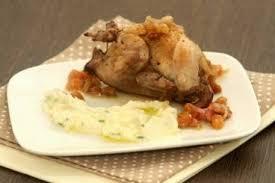 cuisiner caille recette de caille au raisin mousseline de céleri à la ciboulette