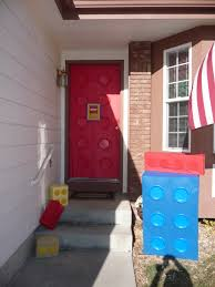 lego themed party easy outdoor porch decorations use vinyl