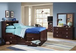lacks university 4 pc twin kids bedroom set