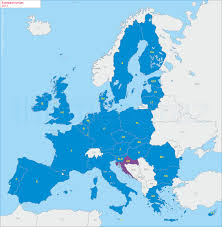 European Countries Map European Union
