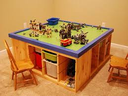kids play table with storage christmas table ikea storage and storage