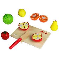 cuisine bebe jouet de cuisine fruits à découper en bois jeu d imitation pour bébé 15