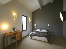 chambre grise et taupe couleur taupe chambre