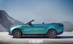 range rover concept 2017 range rover velar svr u0026 convertible envisioned showroom potential