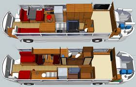 bus conversion floor plans valine
