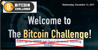 Challenge Harmful Bitcoin Challenge Software Review Stay Away From Bitcoin