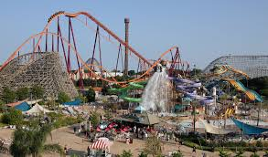 Six Flags New England Map by First Timer U0027s Guide To Six Flags Great America Visit Lake County
