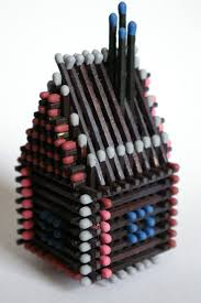 43 best match stick house images on pinterest popsicle sticks